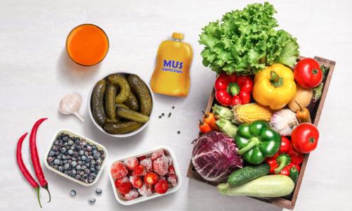 Sposoby na 5 porcji warzyw i owoców w okresie jesienno-zimowym