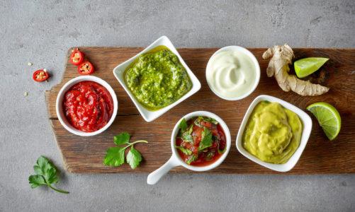 Te sosy do kiełbasek, szaszłyków, karkówki, ryby i grillowanych warzyw podkreślą smak – grillowanych i pieczonych mięs oraz warzyw.